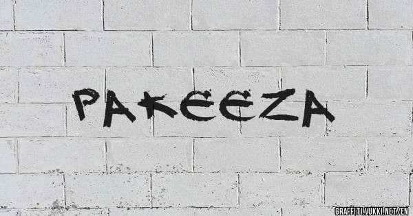 Pakeeza