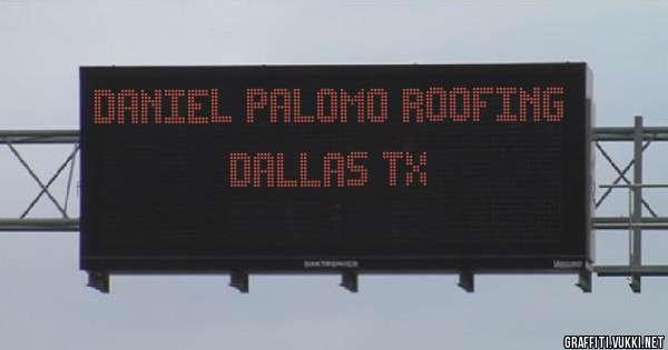 Daniel palomo roofing Dallas tx