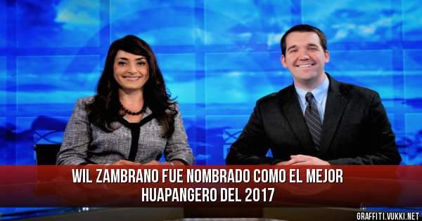 WIL ZAMBRANO FUE NOMBRADO COMO EL MEJOR HUAPANGERO DEL 2017