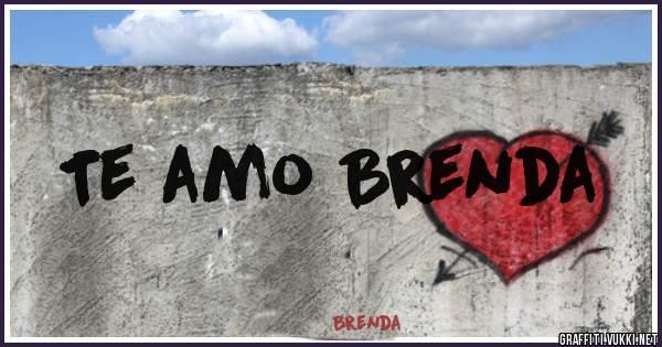 Te amo Brenda