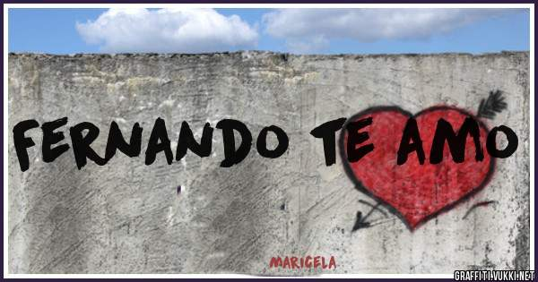 Fernando te amo