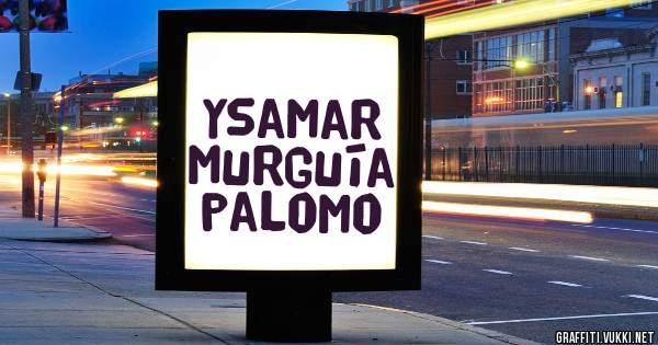 Ysamar Murguía palomo