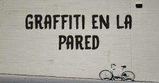 Graffiti en la pared